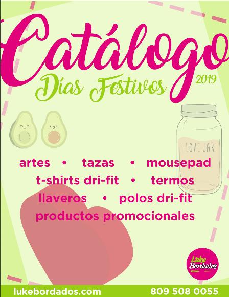 Catalogo de artes y productos 2019